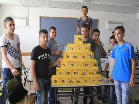 جمعية برج اللقلق تنفذ سلسلة من المبادرات الشبابية في المدارس المقدسية