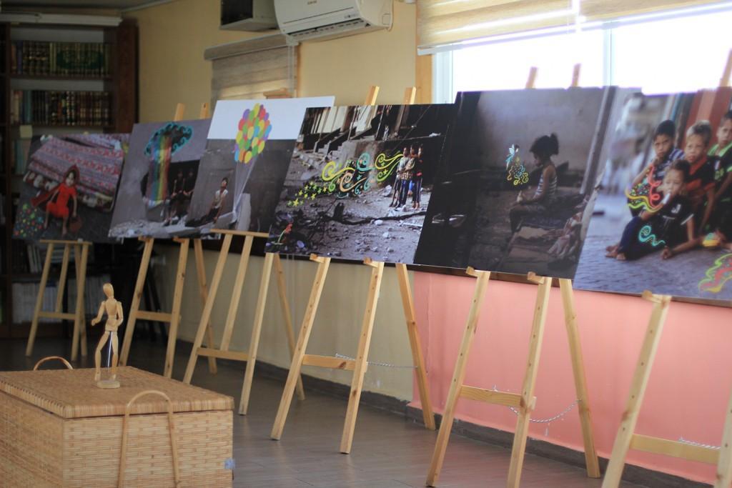 برج اللقلق تختتم تشرين الأول بمعرض مير يام