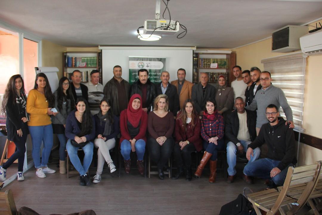 برج اللقلق والأكاديمية الفلسطينية يختمان دورة تدريبية لمدربي كرة القدم للمحاضر الدولي عزت حمزة