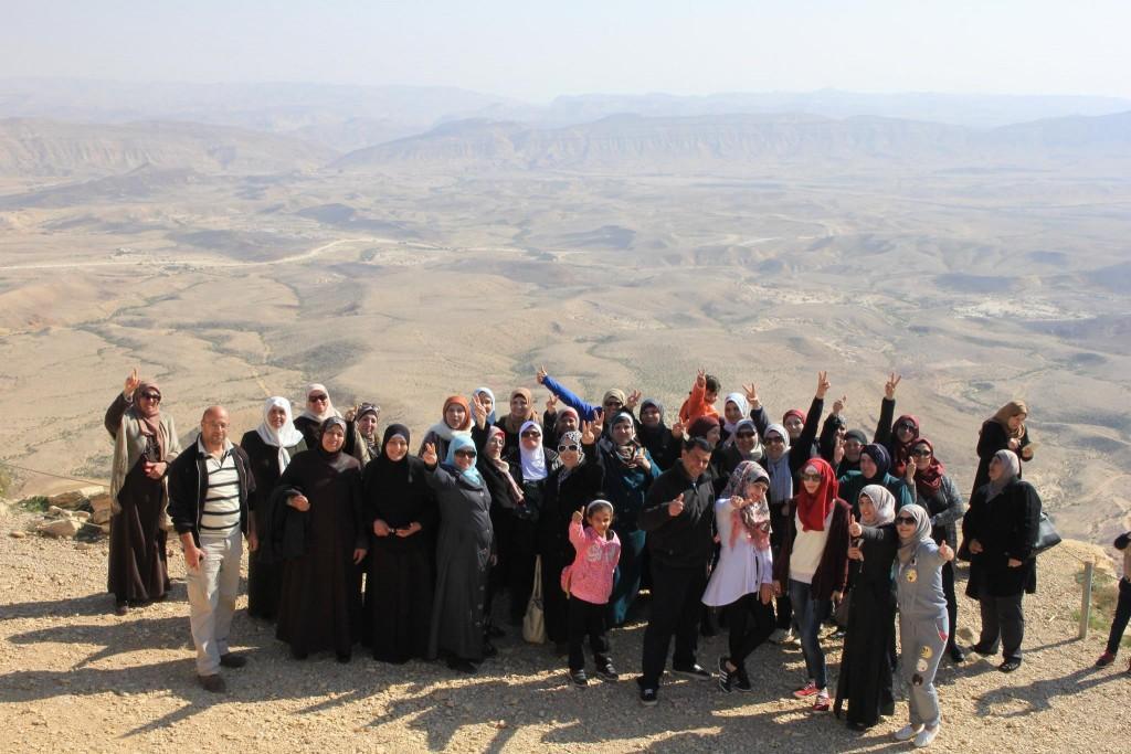 Burj Al-Luqluq Social Center Society Organizes  a Trip to Al-Naqab