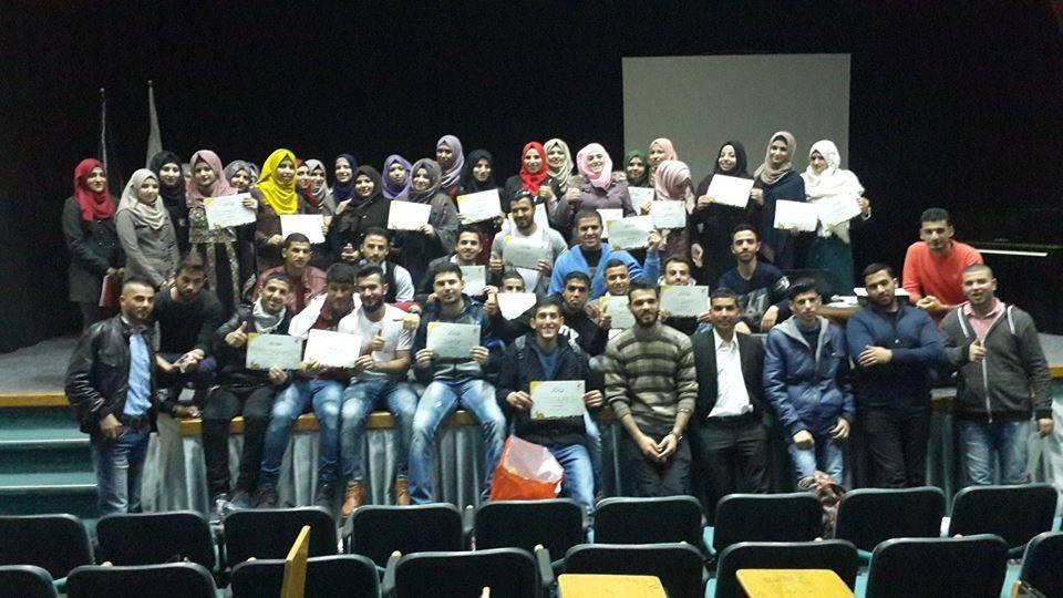 Soul Identity .. Students Activity for Sona' Al-Hayah Group Sponsored by Burj Al-luqluq social society and Al-Quds University