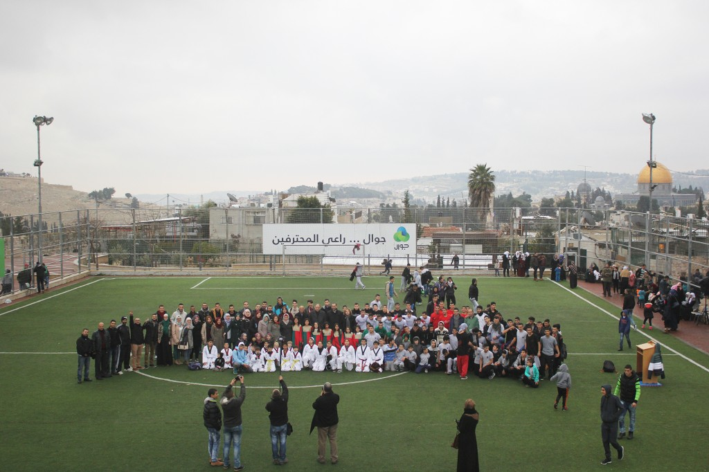 Burj Al-luqluq Ends Shababik Ya Quds Project with an Artistic and Educational Ceremony