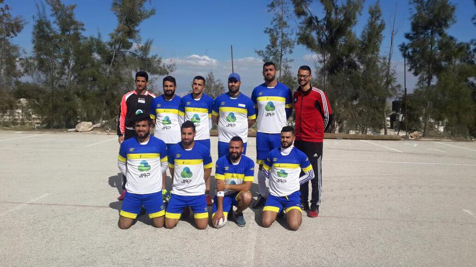 Burj Al-Luqluq Handball Team Meets Al-Quds University Team in a Friendly Match