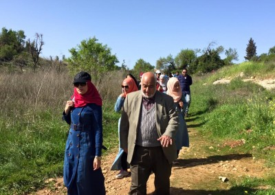 For the Palestinian Identity Reinforcement and for Arabism Lands Confirmation Burj Al-Luqluq Social Center Organizes the Jerusalemite Role Model Program ' The Guards of History' Which Starts from Qalunya Village.