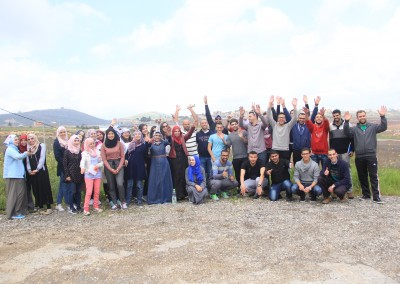 Implemented by Burj Al-luqluq Social Center Society and Supervised by Welfare Association Youth Ambassador Program Part 2 Revives the Land's Day in a Tour to Galilee and the Wadi Al-Oyoun.