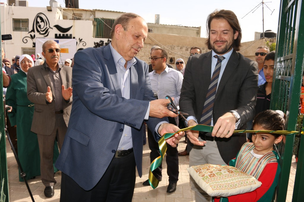 Sponsored by European Union Burj Al-Luqluq and CISP Lunch Ceramic Work-Place