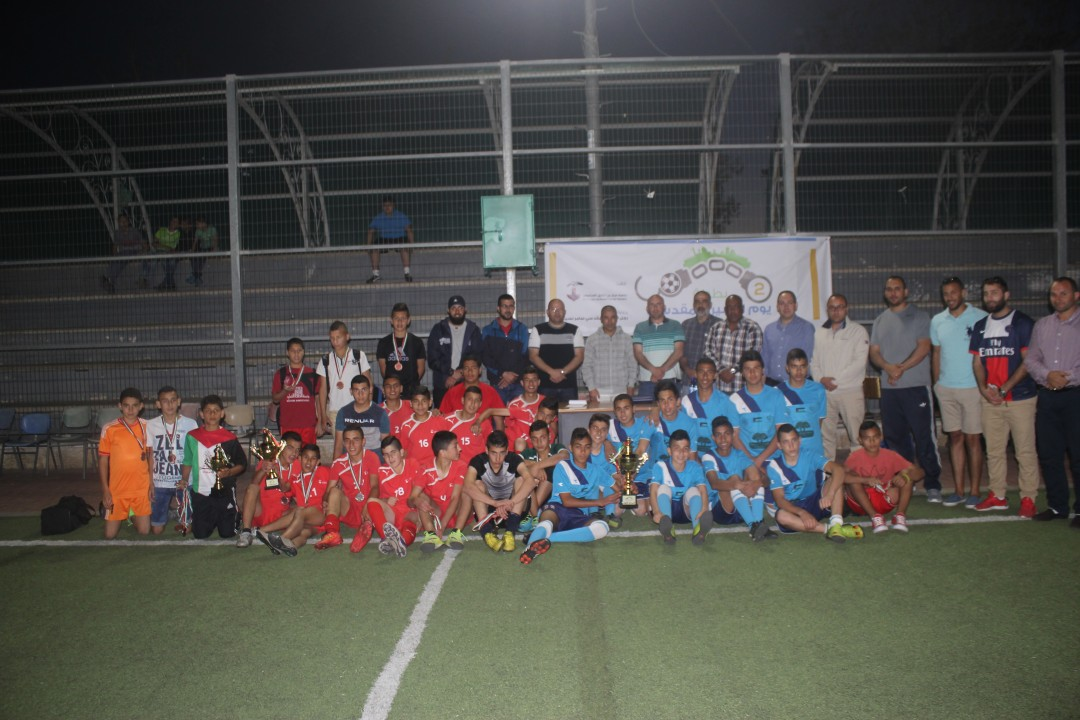 Jerusalemite Prisoner's Day Tournament – sponsored by the Businessman Samer Nseibeh Honoring Three Jerusalemite teams on Burj Al-Luqluq Facilities