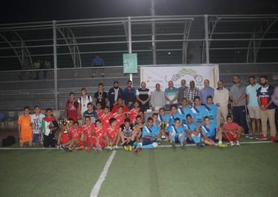 Jerusalemite Prisoner's Day Tournament – sponsored by the Businessman Samer Nseibeh Honoring Three Jerusalemite teams on Burj Al-Luqluq Facilities