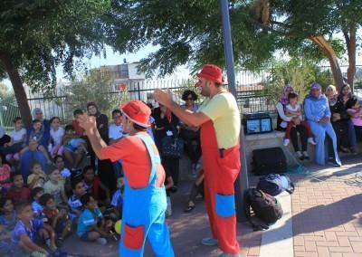 Burj Al-Luqluq Conducts the Festival 'Back to Schools' in partnership with Ard Al-Insan Palestinian-Italian Benvolent Association