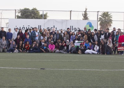 Burj Al-Luqluq Social Center Society Hosts 100 Participants of the International Camp in Palestine