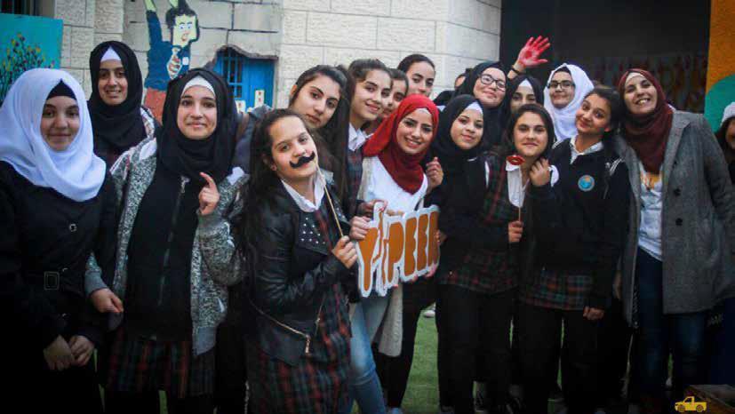 اول نشاط وايبيري في مدينة القدس بالتعاون مع جمعية برج اللقلق