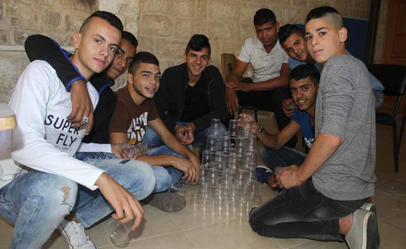 برج اللقلق تبدا بتنفيذ مشروع طفل مقدسي مبادر لطلاب القدس
