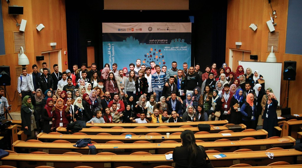 "The Jerusalem Youth Summit 5 ""Jerusalemite Youth 2030"" Simulates the Reality of Youth"
