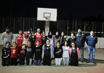 A Training Basketball Match between Burj Al-Luqluq & the BCG Teams