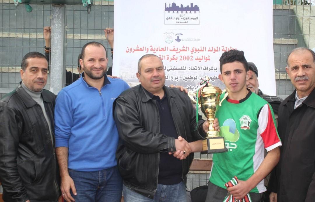 Jabal Al-Mukabber Team Wins Al-Mawled Al-Nabawi Tournamet Championship & Burj AL-Luqluq Comes Second
