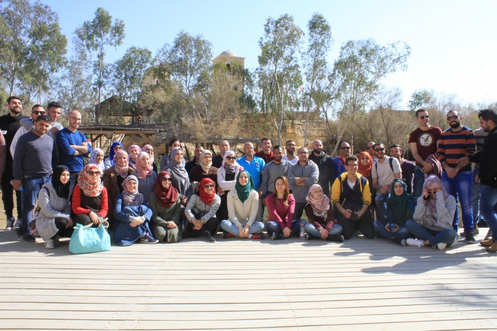 Burj Al-Luqluq Wraps Up the Young Guide 2 Program with a Tour to the Palestinian Jordan Valley