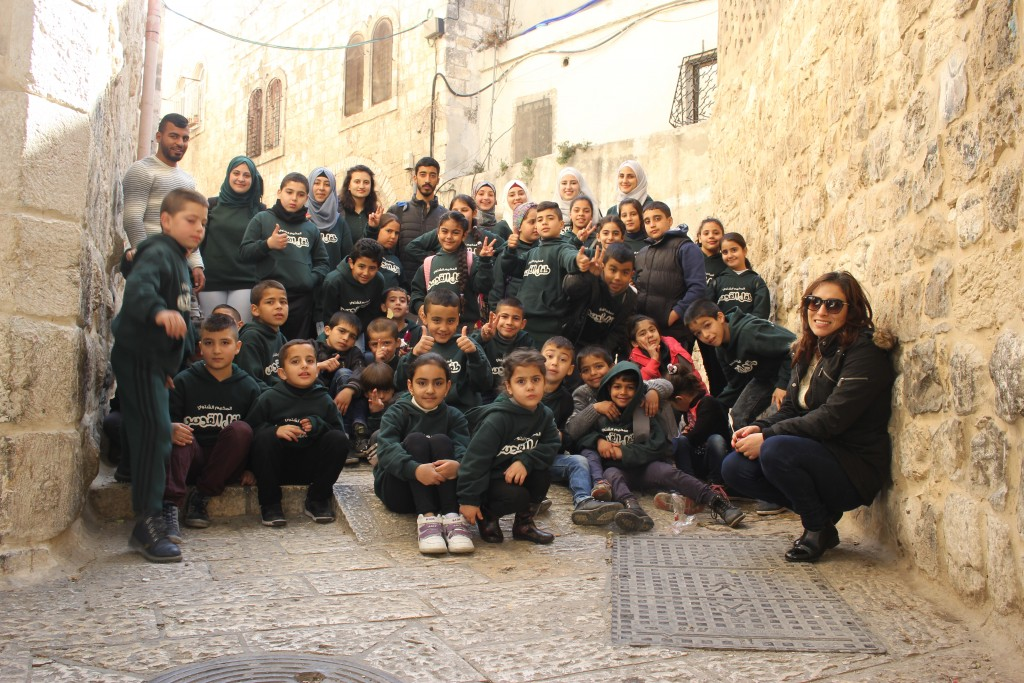 "Burj Al-Luqluq Launches the Winter Camp ""Tifl Al-Quds"""