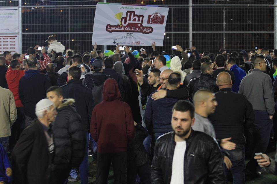 Abu Sneineh Family Crowned the Champion of the Jerusalemite Families Tournament
