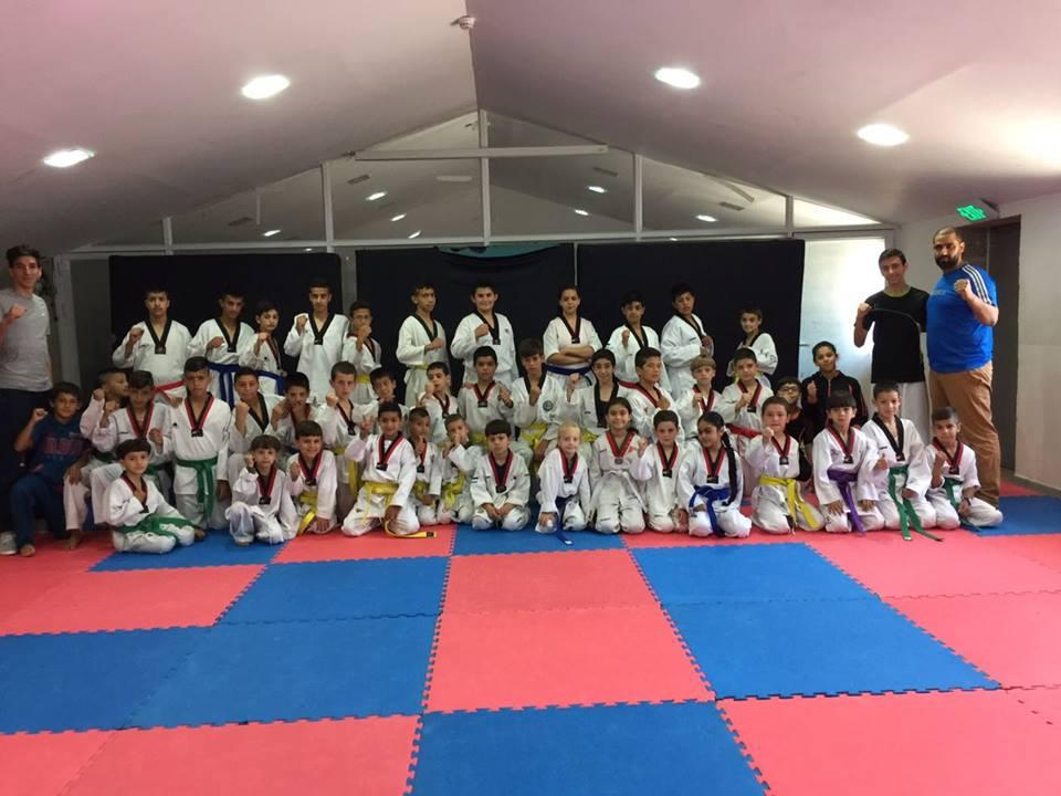 Burj Al-Luqluq Hosts Abnaa' Al-Quds Taekwondo Team