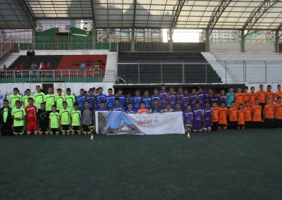 """Burj Al-Luqluq Celebrates the Closing Ceremony of """"from Jerusalem to Hebron"""" Project with the Prisoners' Tournament"""