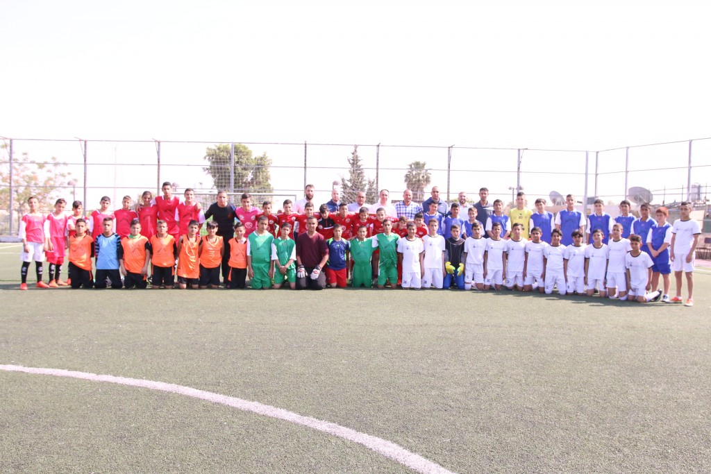 Mount of Olives football club wins the tournament 'Jerusalemite Prisoner's Day', Burj Al-Luqluq comes in the second place and Palestinian academy for footballers comes thirdly