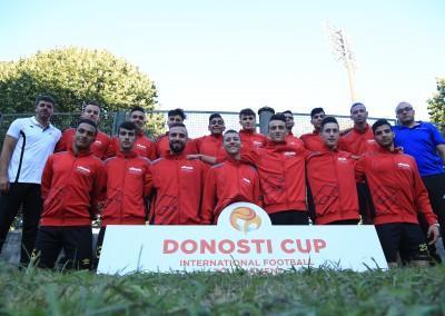 Burj Al-Luqluq\ AL-Muazaffin Participates in Donosti Cup in Spain