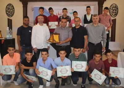 Burj Al-Luqluq Celebrates the Closing Ceremony of from Jerusalem to Hebron Sport project