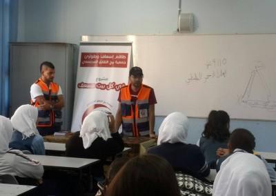 Burj Al-Luqluq First Aid Unit is Always Active!