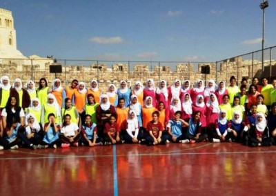 6 Jerusalemite Schools Participate in Handball Tournament