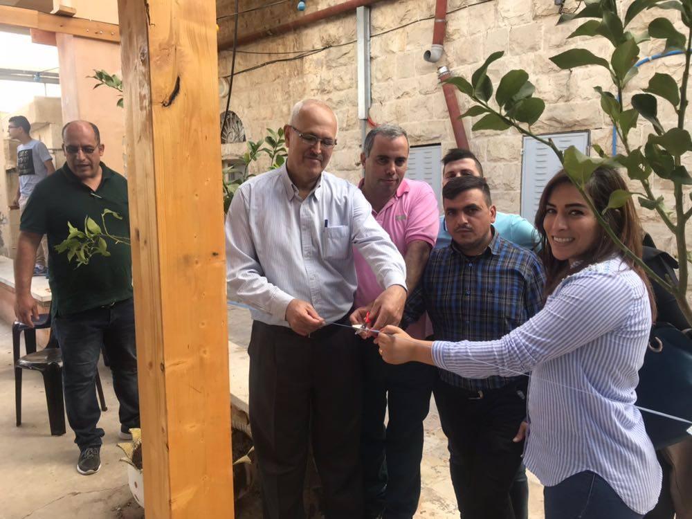 ضمن مشروع خطى برج اللقلق والرؤيا ونادي الثوري يحتفلون بافتتاح مطلة الثوري للشباب