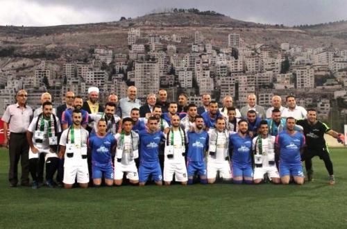 منتخب العائلات النابلسية يتفوق على منتخب عائلات القدس في لقاء نصرة القدس الكروي