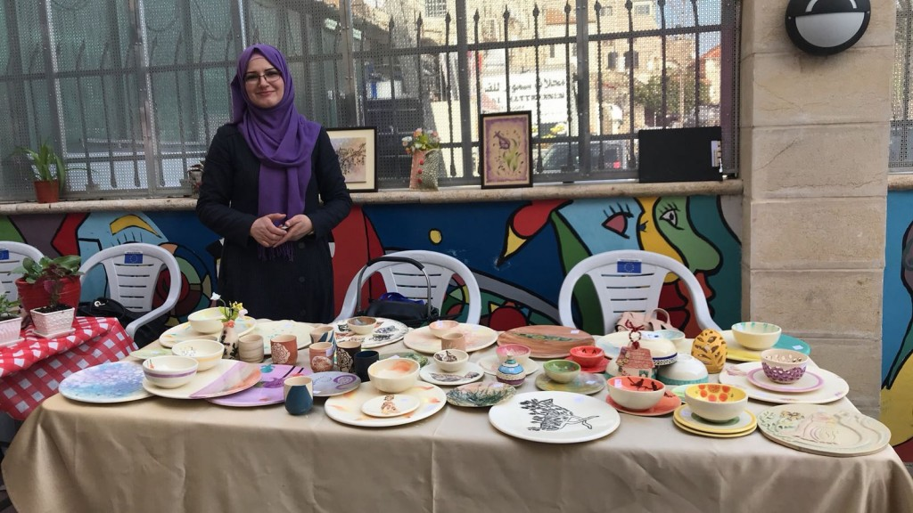 Burj Ceramic Lab Participates in the International Women's Week