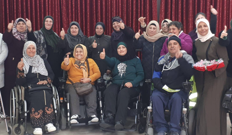 Within the framework of womens activities, Burj Al-Laqlaq Association organizes activities for people with special needs
