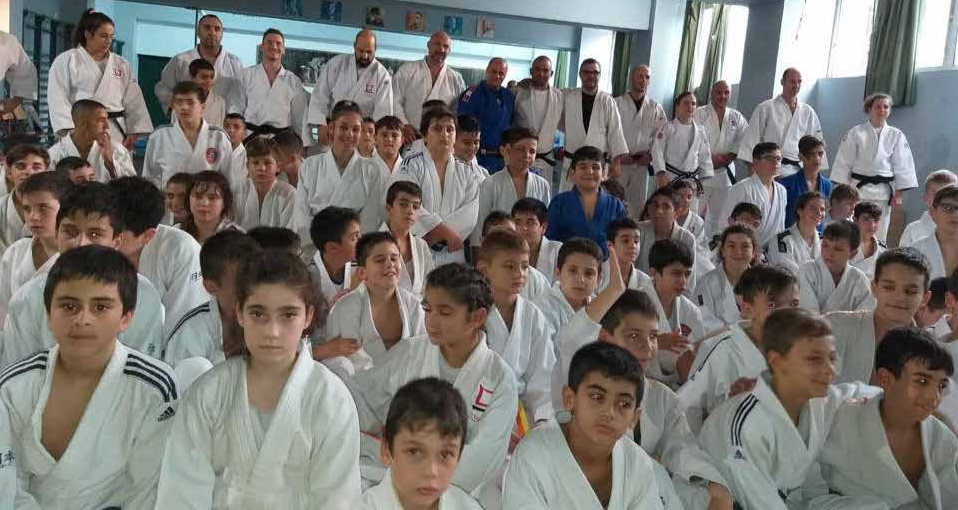 Burj Al-Luqluq Judo Club Prticipates in Athens Camp