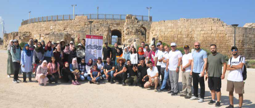 Burj Al-Luqluq Organizes a Tour to the Palestinian Coast within Al-Murshid Al-Shab 4