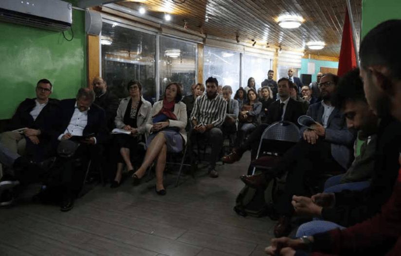 European Union Diplomatic Delegation Visits Jerusalem