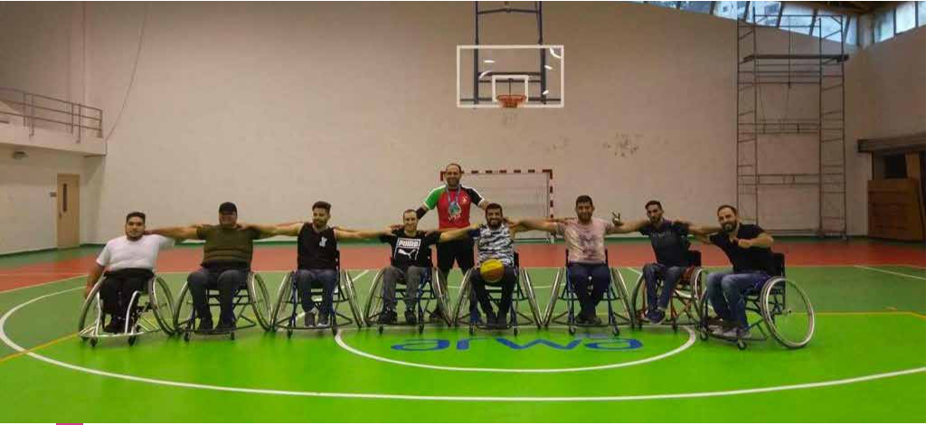 Burj al-Luqluq Established a Basketball Team for the Disabled in Jerusalem