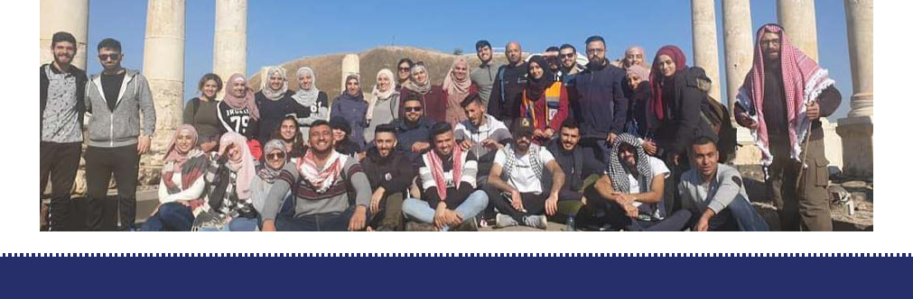 Within the Burj Al-Watan project funded by the Arab Fund and under the supervision of Taawon  The Young Guide program continues with his trips to promote the Palestinian identity