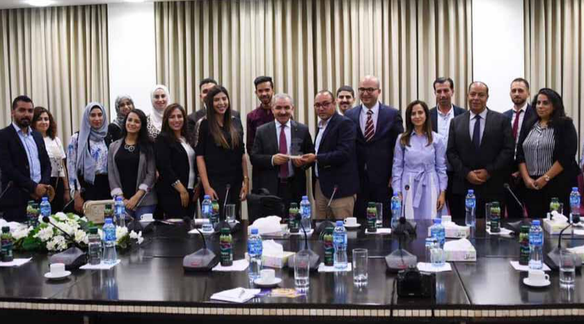 PM Meets with a Jerusalemite Youth Delegation