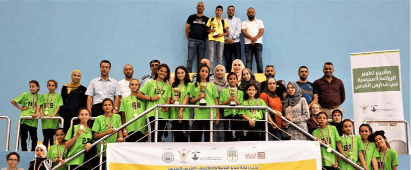 """إحياء يوم الطفل العربي  التربية والتعليم وبرج اللقلق ينظمان سباق الضاحية للذكور والإناث بعنوان """"فلسطيني الهوية"""""""