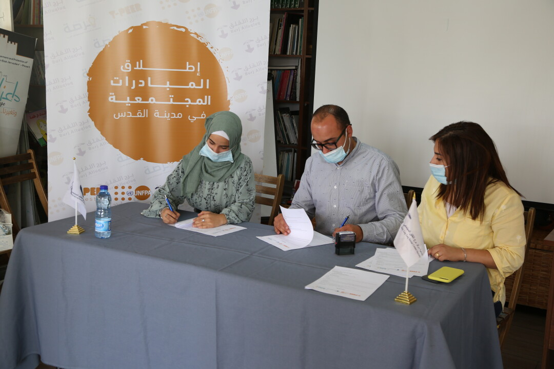 """Burj Al-Luqluq Launches """"Community Youth Initiatives 2020"""" Within  Forsa Project"""