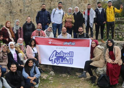 "Burj Al-Luqluq graduate the fourth regiment of ""The youth guide"" program for jerusalemite youth"
