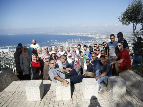 Burj Al-Luqluq Continues Field Visit around the Historical Palestine