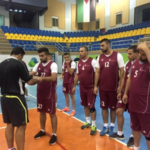 فريق برج اللقلق يجري أولى لقاءاته التدريبية للكاس امام فريق جامعة النجاح الوطنية