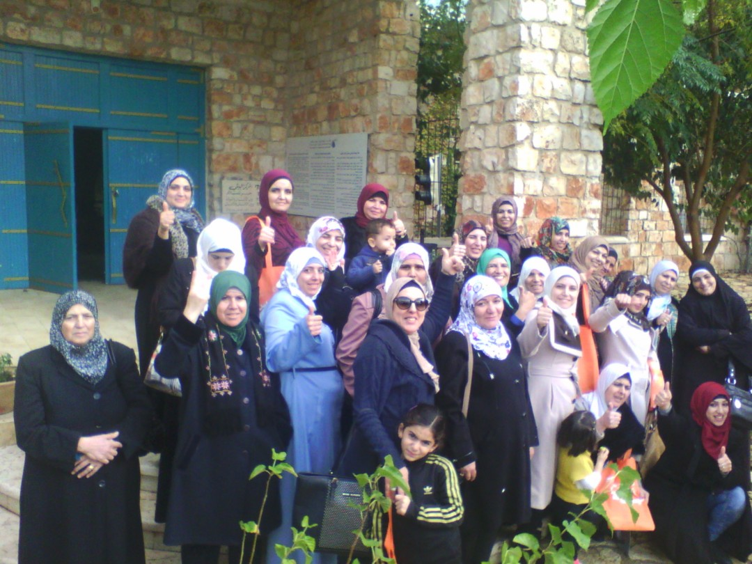 """Caltural Tour to Tiberias Within """"We Aware Our Community"""" Project for Women of the Old City"""