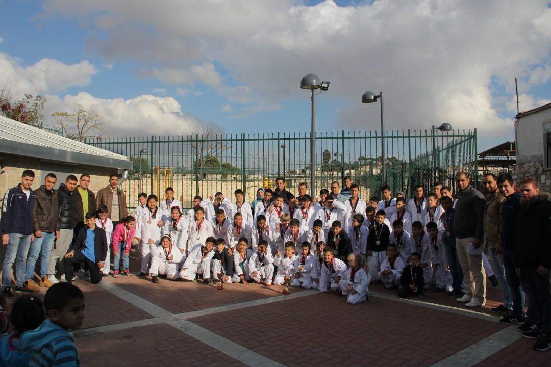 Burj Al-Luqluq Organizes a Taekwondo Championship in the Participation of 5 Jerusalemite Clubs