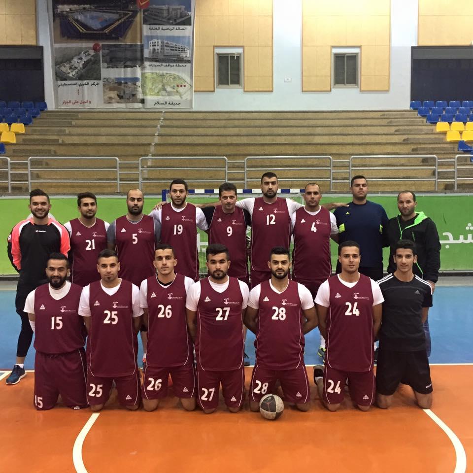 Burj Al-Luluq Starts Handball Training for the Supporting Team