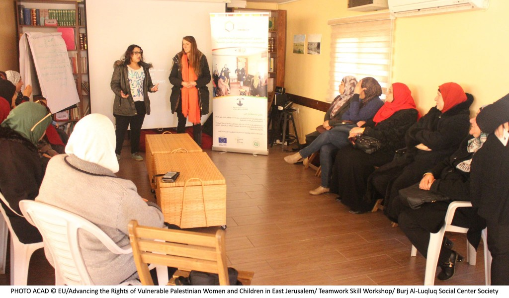 Burj Al-luq luq Social Center Graduates Women in the Course 'How to Start Your Own Project' within Securing Jerusalemite Women and Children Violated Rights