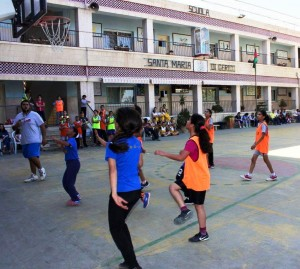 Sponsored By Jerusalemite Pontifical Mission Basket Ball Matches Between Burj Al-Luqluq & Seeds of Hope Association in an Organized Open Day within Learn & Play Program