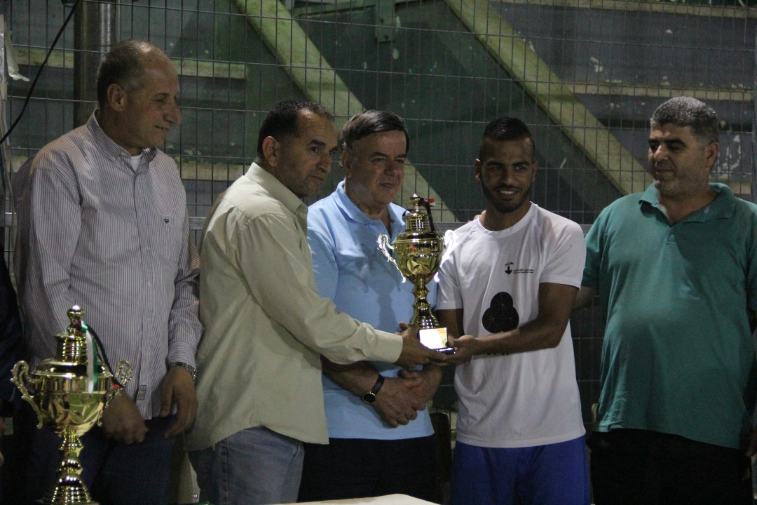 Implemented by Burj Al-Luqluq and Sponsored by Jawwal Al-Sa'deiyeh Nehiborhood Team is the Champion of the Five Jerusalemite Nehiborhoods Tournament